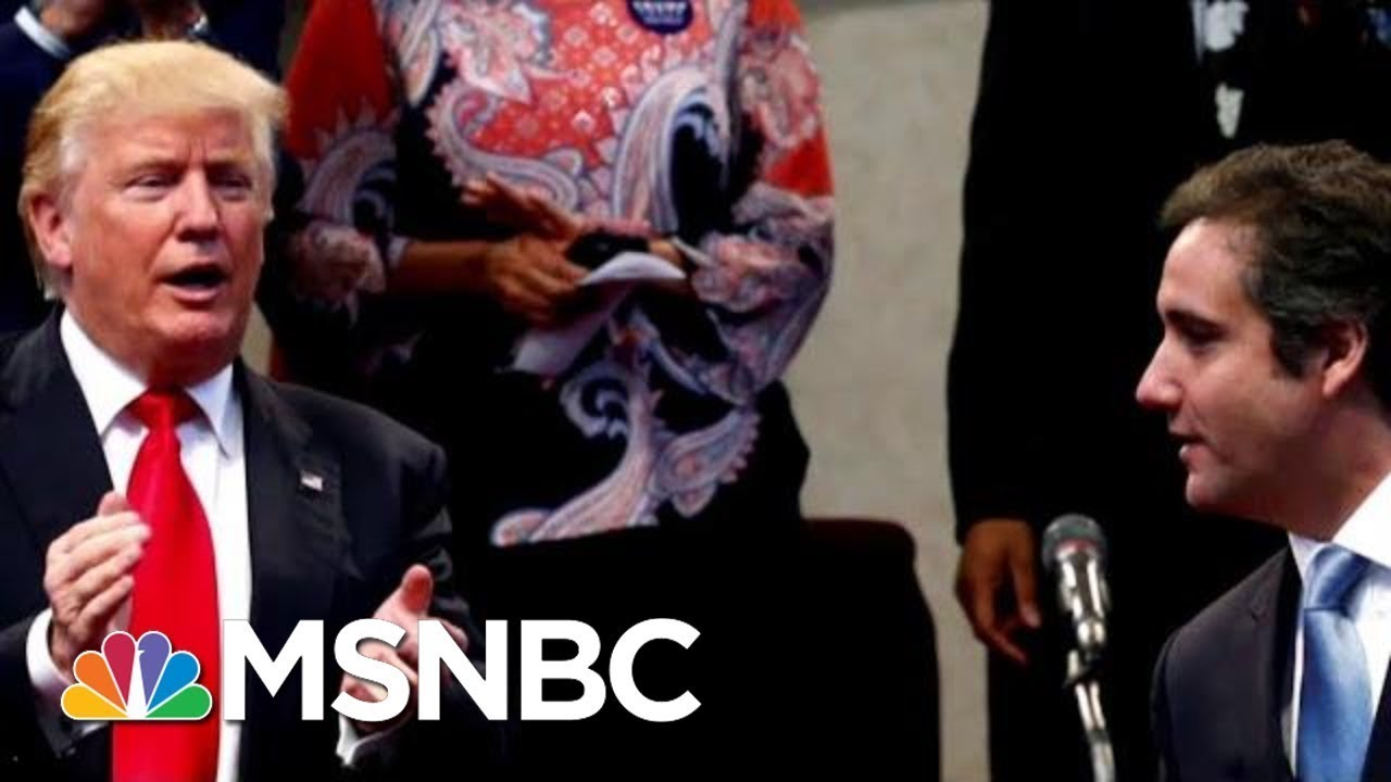 Docs: Donald Trump Discussed Squashing Stories About Affairs | Velshi & Ruhle | MSNBC 1