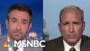 Trump Official Won't Rebuke Go Back Remark Violating DHS Policy   The Beat With Ari Melber   MSNBC 4
