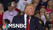 """President Donald Trump Tries To Distance Himself From """"Send Her Back"""" Chant 