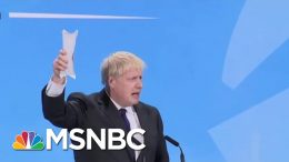BoJo And His Kipper | All In | MSNBC 1