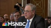 Paragon Of Corruption At Trump Interior Draws Eye Of Congress | Rachel Maddow | MSNBC 4