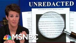 President Donald Trump Campaign Hush Money Scam Appears To Have Worked | Rachel Maddow | MSNBC 7