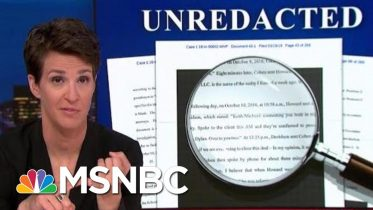 President Donald Trump Campaign Hush Money Scam Appears To Have Worked | Rachel Maddow | MSNBC 6