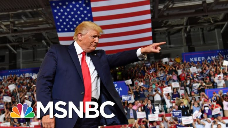 Trump rally chants, Trump backtracks: 'Send her back' - The Day That Was | MSNBC 1
