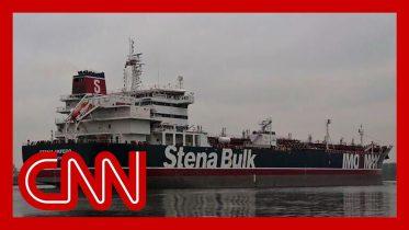 US officials say Iran seized a British oil tanker 10