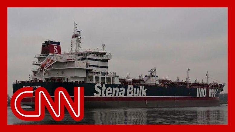 US officials say Iran seized a British oil tanker 1