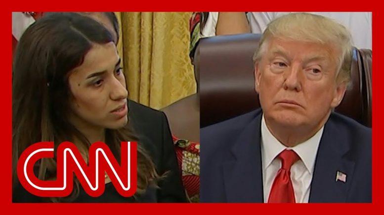 See Trump's reaction when survivor tells horrific story 1