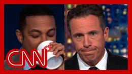 Lemon and Cuomo reenact Trump's 13 seconds of silence 3
