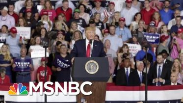 Donald Trump Tries To Distance Himself From 'Send Her Back' Chants | Velshi & Ruhle | MSNBC 6