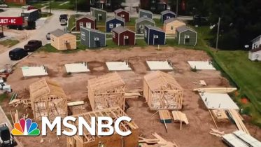 Group Turns To Tiny Houses To End Vet Homelessness | Velshi & Ruhle | MSNBC 6