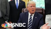 President Donald Trump 'Already Started' Working With Sweden For Release Of A$AP Rocky | MSNBC 3