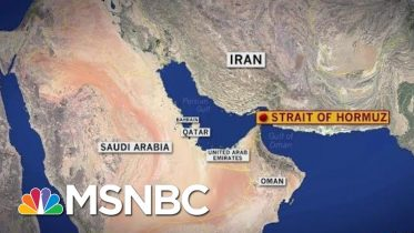 British-Flagged Ship Reportedly Seized By Iran In Strait Of Hormuz   MSNBC 6