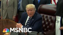 President Donald Trump Backtracks On Race-Baiting MAGA Chant | The Beat With Ari Melber | MSNBC 2