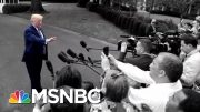 Trump Yesterday: Unhappy With Racist Chant. Trump Now: They're Patriots. | The 11th Hour | MSNBC 3