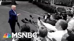 Trump Yesterday: Unhappy With Racist Chant. Trump Now: They're Patriots. | The 11th Hour | MSNBC 1