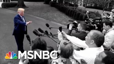 Trump Yesterday: Unhappy With Racist Chant. Trump Now: They're Patriots. | The 11th Hour | MSNBC 6