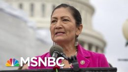 Haaland: As A Native American, I'd Never Tell Anyone To Leave This Country | The 11th Hour | MSNBC 7