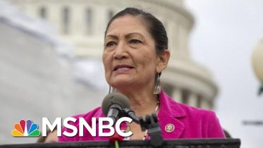 Haaland: As A Native American, I'd Never Tell Anyone To Leave This Country | The 11th Hour | MSNBC 6
