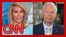 Dana Bash presses Sen. Ron Johnson to disavow President Trump's attacks on Dems 4