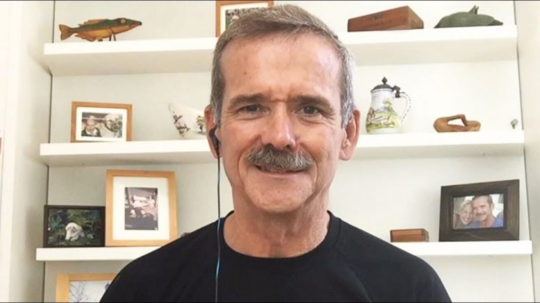 Col. Chris Hadfield on the impact of the Apollo 11 moon mission 1