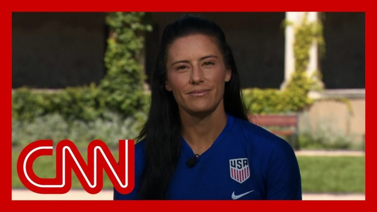 US women's soccer player: I refuse to respect Trump 1