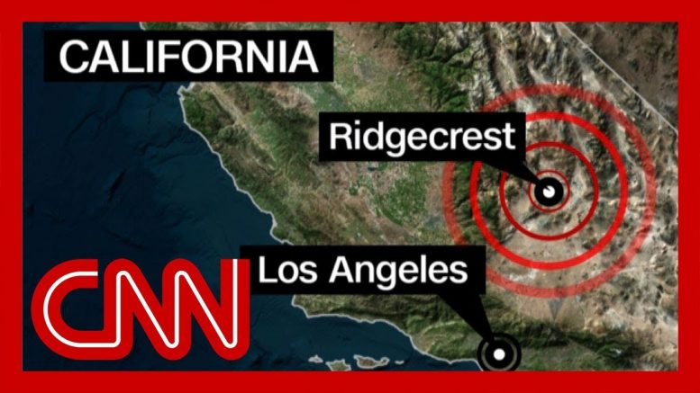 6.4 magnitude California earthquake shakes Los Angeles 1