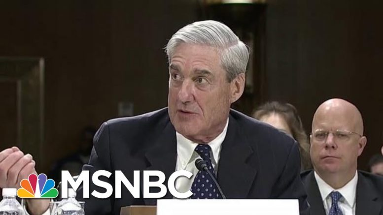 President Trump: Mueller Shouldn't Be Given 'Another Bite Of The Apple' | Velshi & Ruhle | MSNBC 1