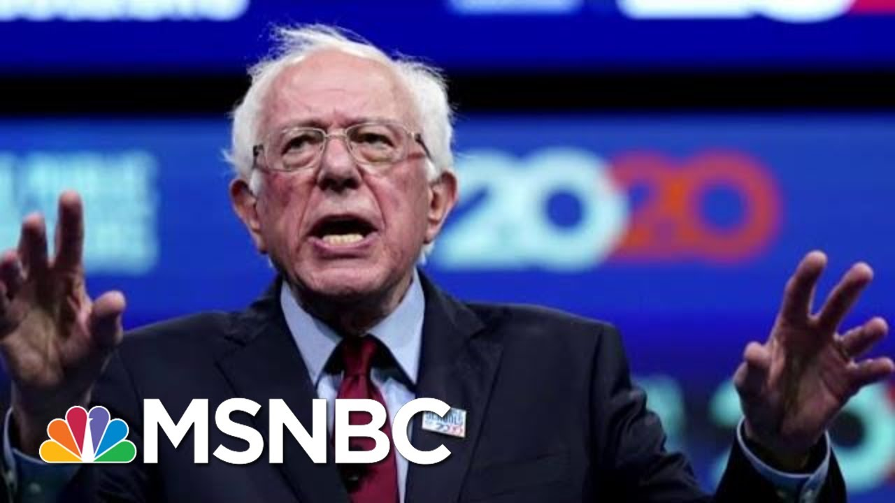 Democratic Race Tightens In Early Voting States   Velshi & Ruhle   MSNBC 1