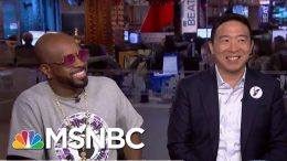 2020 Dem Andrew Yang Slams The Knicks For Bad Sportsmanship | The Beat With Ari Melber | MSNBC 8