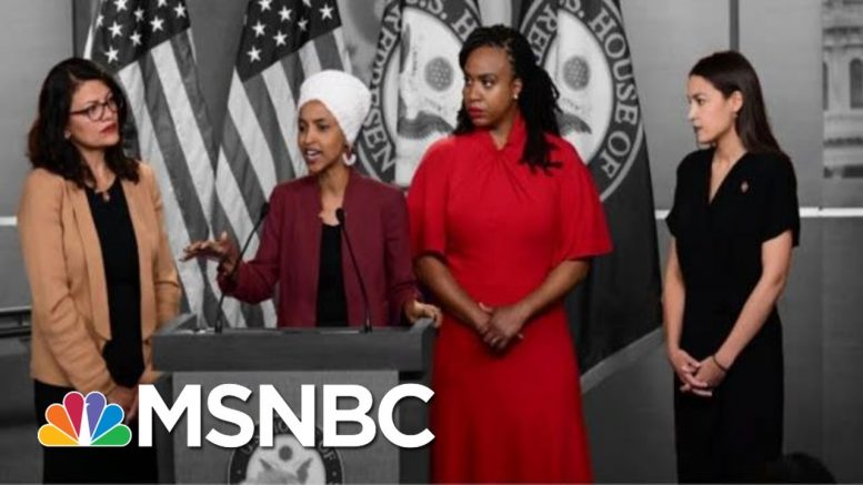 President Donald Trump Steps Up Attacks On Four Democratic Congresswomen | The 11th Hour | MSNBC 1