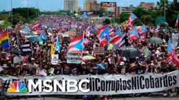 Hundreds Of Thousands Flood Streets To Demand Governor's Resignation - The Day That Was | MSNBC 3