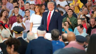 Accusations U.S. President Trump has politicized Independence Day celebrations 6