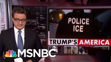American Held By Immigration Released After Three Weeks | All In | MSNBC 4