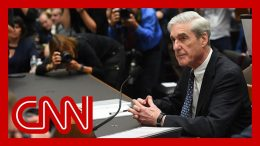 Mueller clarifies answer he gave about indictment in his second opening statement 1