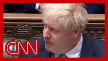 Boris Johnson compared to Donald Trump in UK parliament 2