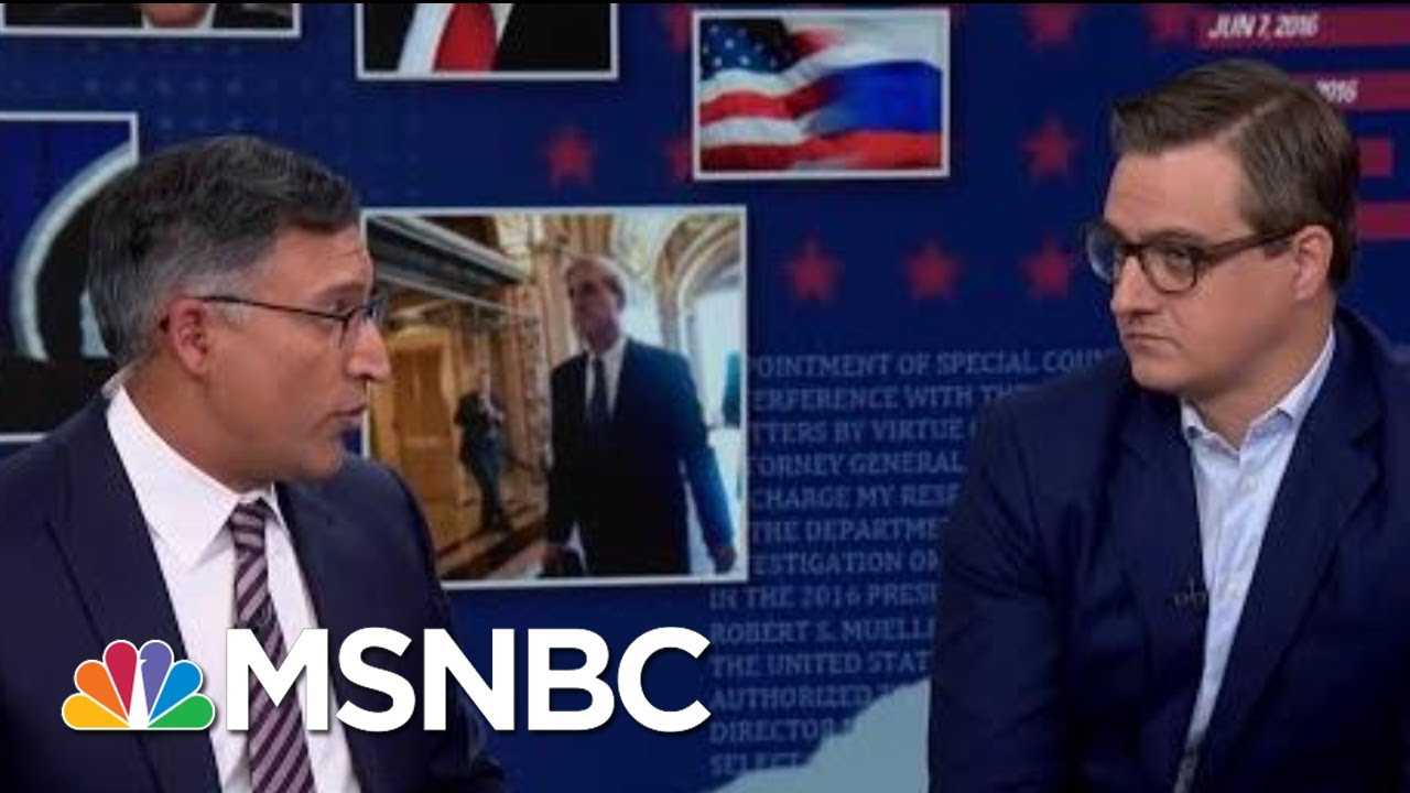 Hayes: Why Mueller's Tenor Differed Between Morning And Afternoon Sessions   MSNBC 1