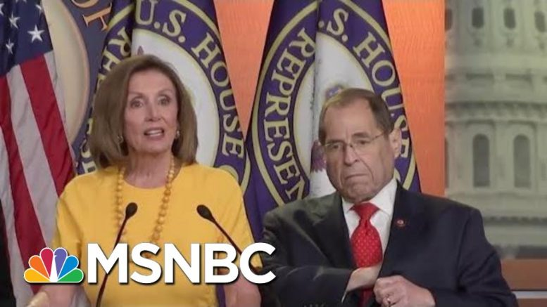 Full Pelosi, Nadler, Schiff And Cummings Press Conference Post-Mueller Testimony | MTP Daily | MSNBC 1