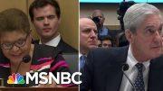 Dem Questioning Highlights Trump's Attempts To Interfere In Mueller Probe | Hardball | MSNBC 5