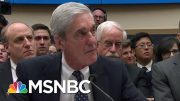Some Surprises Among Damning Mueller Testimony, Bad Day For Donald Trump | Rachel Maddow | MSNBC 5