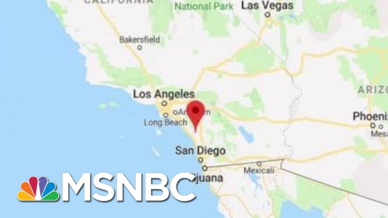 16 Marines Arrested On Human Trafficking And Drug Charges | Katy Tur | MSNBC 1