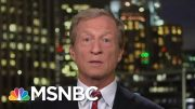 Tom Steyer Unveils Climate Plan | All In | MSNBC 3