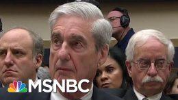 Robert Mueller Testimony Laid Bare Donald Trump Team's Untruthfulness | Rachel Maddow | MSNBC 9
