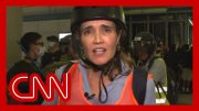 CNN reporter describes 'chaos' as riot police charge protesters 3