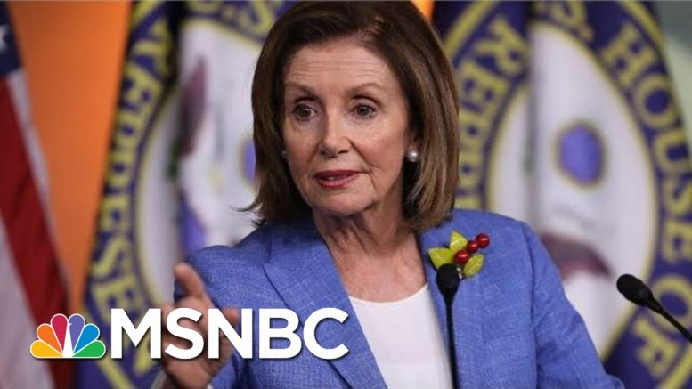 House Speaker Nancy Pelosi: 'I'm Not Trying To Run Out The Clock' On Impeachment | MSNBC 1