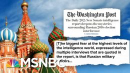 Senate Intel Report Details Extensive Russian Interference In 2016 Election | Deadline | MSNBC 8