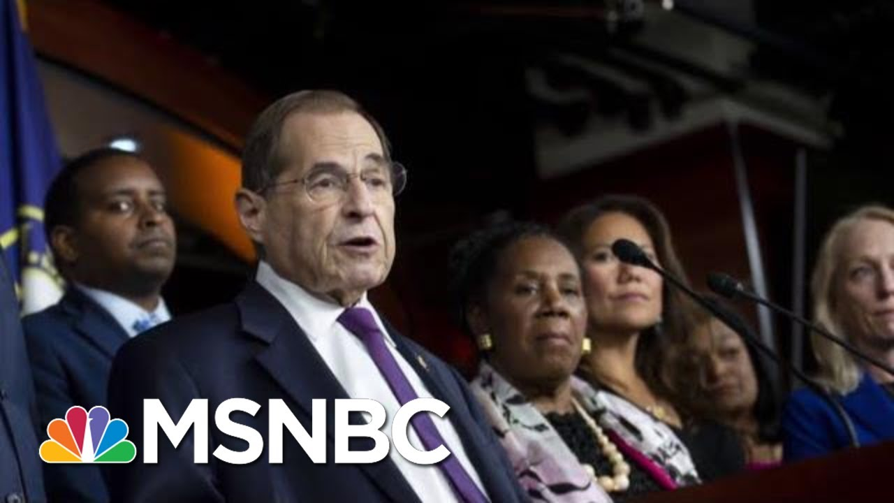 Rep. Nadler Suggests His Committee Is Already Conducting An Impeachment Inquiry | Deadline | MSNBC 9