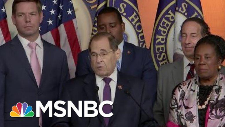 Context Of President Donald Trump Impeachment Improves Democrats' Legal Case | Rachel Maddow | MSNBC 1