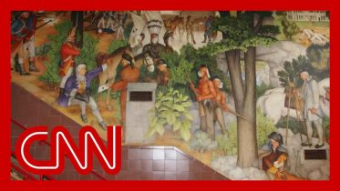 Screaming match erupts over vote to remove mural 6