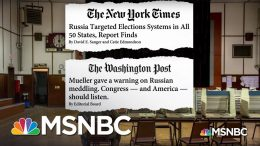 McConnell Is Refusing To Protect America From Election Interference | MSNBC 6
