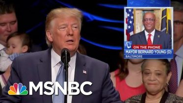 Baltimore Mayor: Trump Should Stop Tweeting And Send Federal Help | Velshi & Ruhle | MSNBC 2